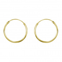 Medium Ear Hoop Gold