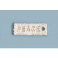 Peace vedhæng, 14x5 mm, FS, 1 stk.