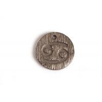 Stjernetegn, tyr, 12 mm, BP, 1 stk.