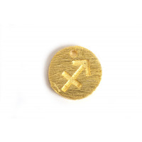 Stjernetegn, skytte, 12 mm, FG, 1 stk.